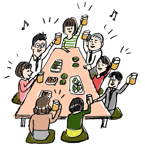 初めて飲んだお酒は、楽しさいっぱい~お酒は人生を豊かにします